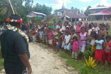 Neue Mission des Institutes des Fleischgewordenen Wortes auf den Salomon-Inseln