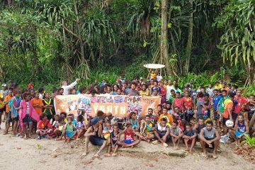 Jugendgruppe des Institutes des Fleischgewordenen Wortes in Guyana