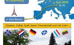 Jugendfahrt nach Luxemburg und Paris