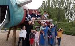 Kindergruppe in Luxemburg (Oratorium)