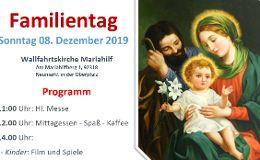Familientag am Mariahilfberg am 8.12.2019