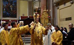 Byzantinischer Ritus im Seminar in Montefiascone