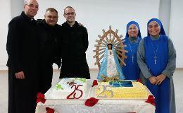 25 Jahre Präsenz unserer Ordensfamilie in Sezze (Italien)