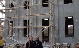 Bau einer neuen Kirche im Irak
